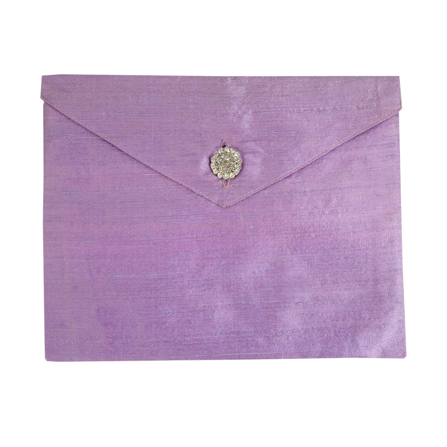 lavender dupioni silk invitation envelope the luxury wedding envelope for your invitation cards wedding invitations envelopes Luxury wedding invitation envelopes