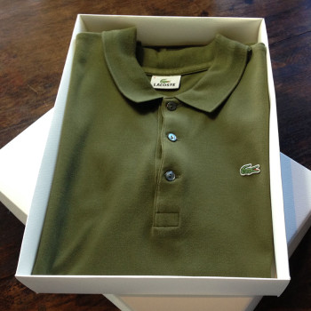 packaging box for polo shirts