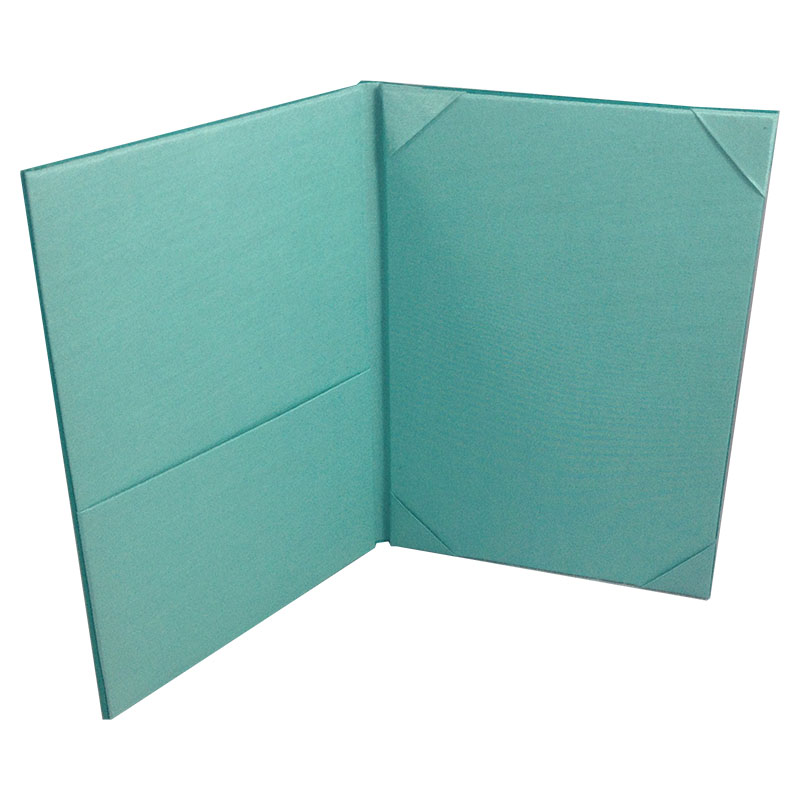 Monogram Embroidered Wedding Invitation Pocket Folder - Luxury ...