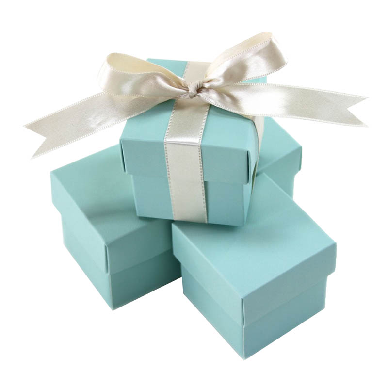 Aqua Wedding Favor Boxes : Aqua blue wedding favour box luxury invitations