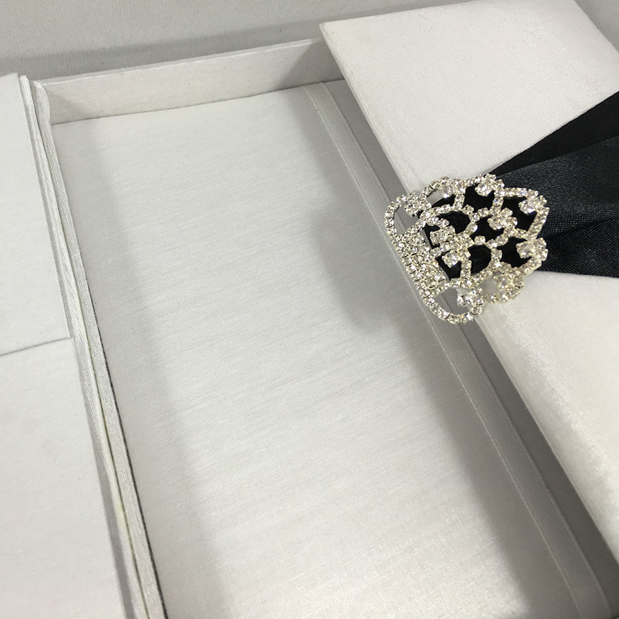 White Invitation Box - Luxury Wedding Invitations, Handmade ...