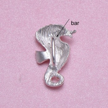 Seahorse Buckle Backside