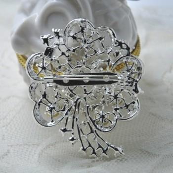 Wedding brooch and embellishments