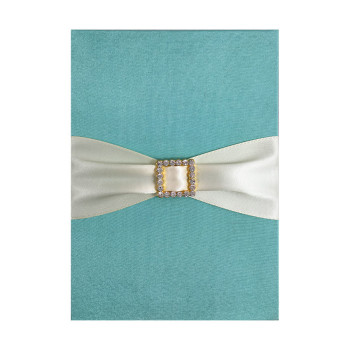 Wedding card and menu card holder