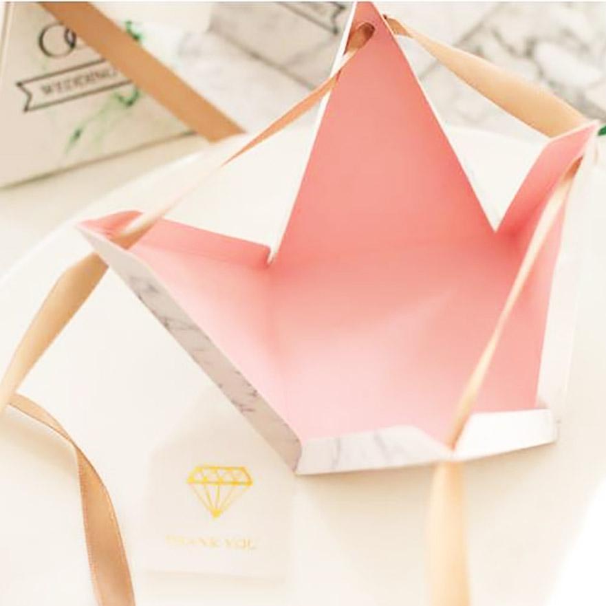Beautiful wedding favor box