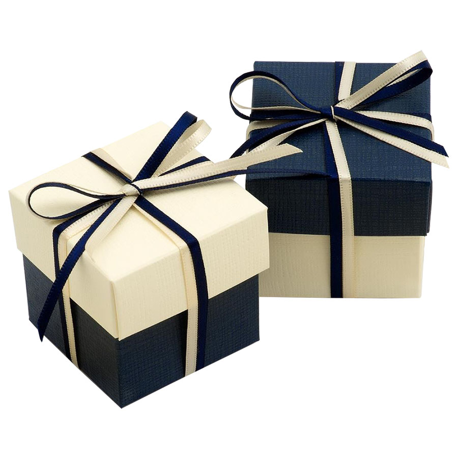 Cute cream black wedding favour boxes for a wonderful for Cheap wedding favor boxes