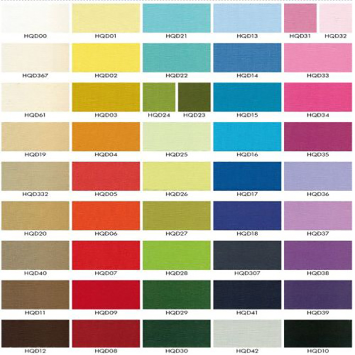 cotton color chart