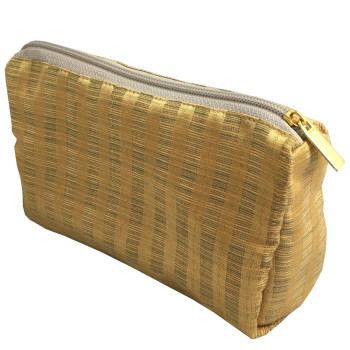 Golden silk bag