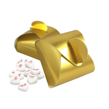 Golden Wedding Favour Boxes
