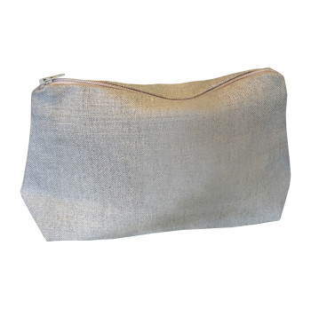 Linen cosmetic bags