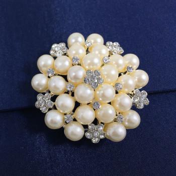 Pearl Brooch Embellishment