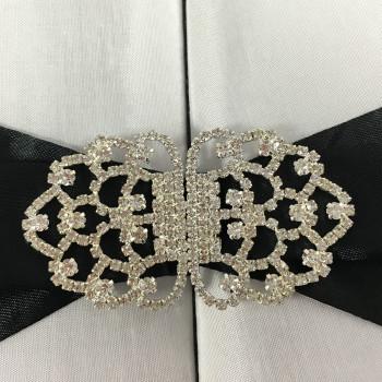rhinestone clasp wedding embellishments