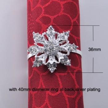 Star Shaped Napkin Ring Holder