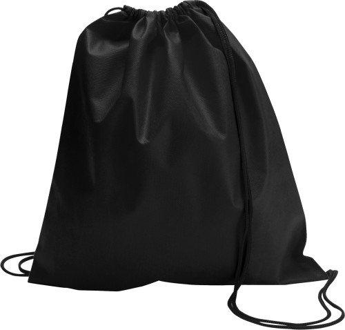 Black Drawstring Bag Nonwoven