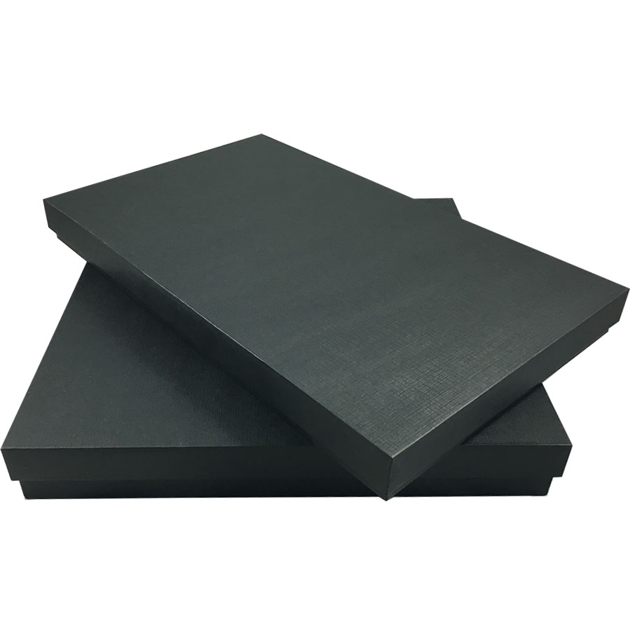 Black Card Stock Packaging Boxes Black Mailing Boxes For