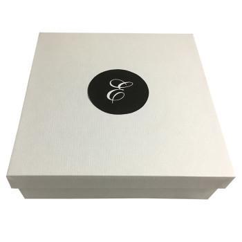 Monogram printed Paper Box