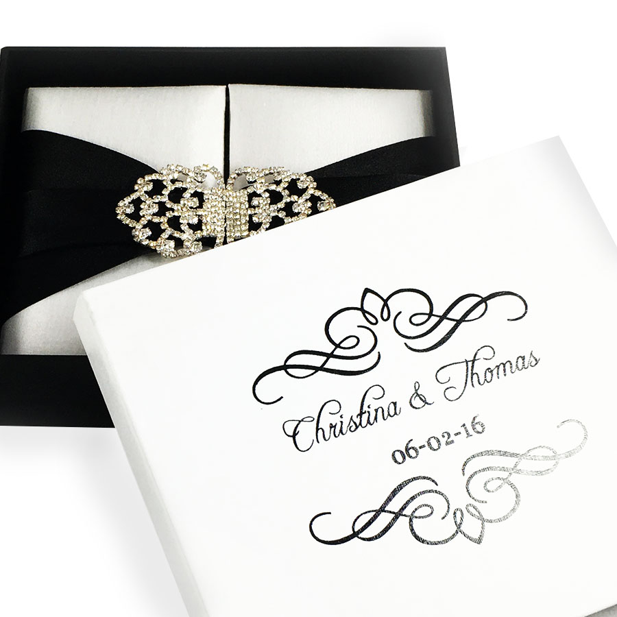 personalized mailing boxes - Mailing Wedding Invitations