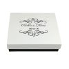 Mailing Box For Wedding Invitation Boxes With Bride & Groom Name & Wedding Date