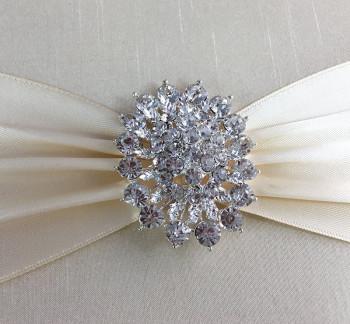 Diamond brooch by DennisWisser.com