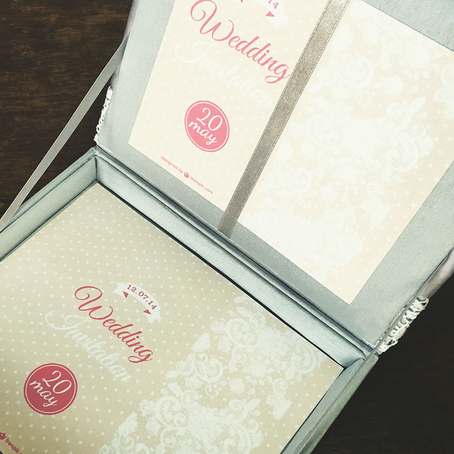 Lace Wedding Invitations Featuring Silver Dupioni Silk, Ivory Lace ...