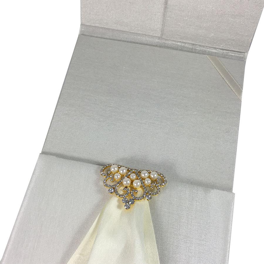 luxury pocket folder