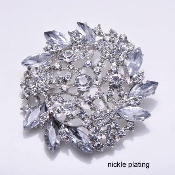 Rhinestone Crystal Brooch Embellishment
