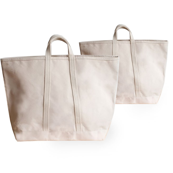 Cotton Canvas Tote & Organic Market or Shopping Bags Wholesale