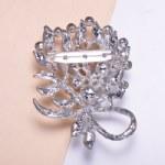 Pin lock brooch
