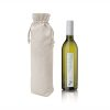 Canvas Wine Bottle Drawstring Bag
