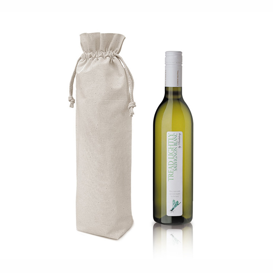 Canvas Wine Bottle Bag - Luxury Wedding Invitations, Handmade ...