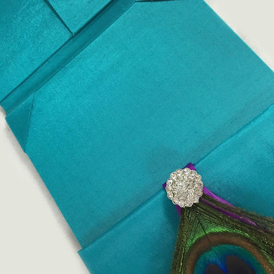 peacock wedding invitation picture