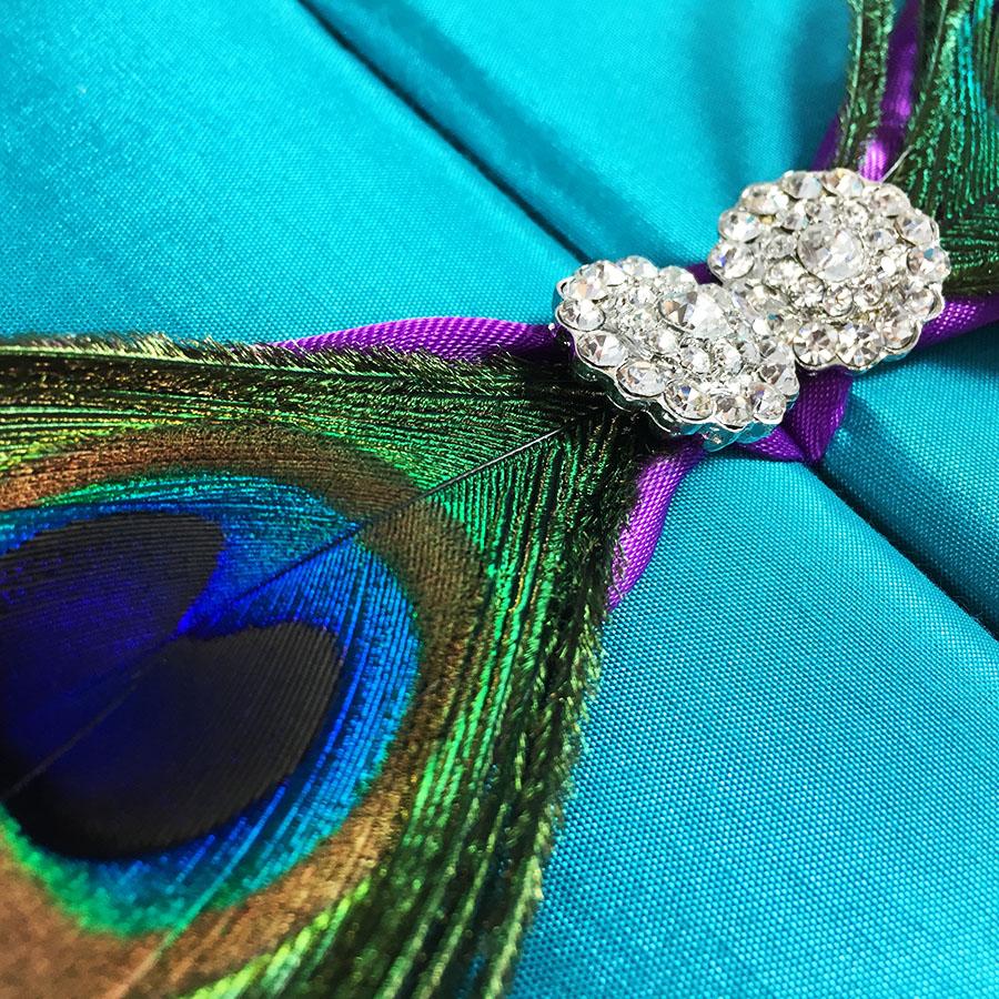 Luxury Peacock Wedding Invitations