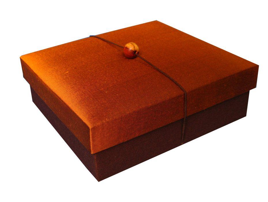 Thai silk box