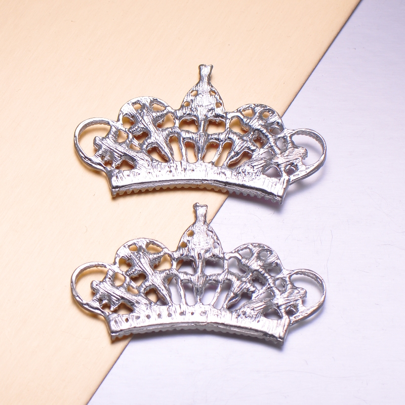 flat back crown brooch