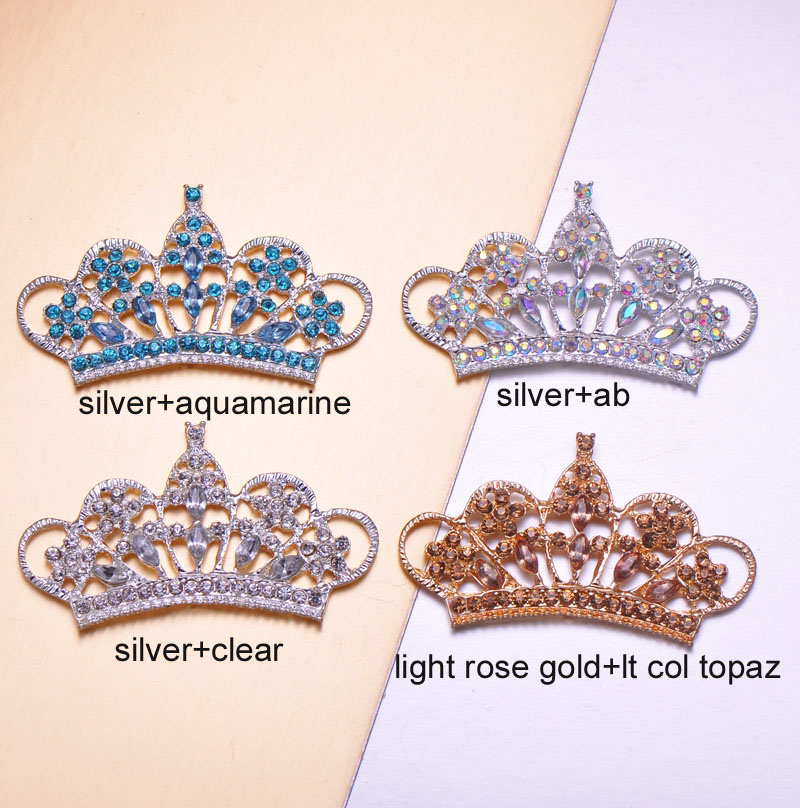 modern crown brooches
