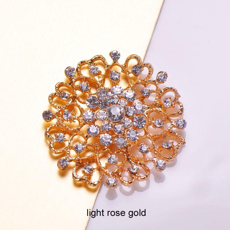 Rosegold brooch
