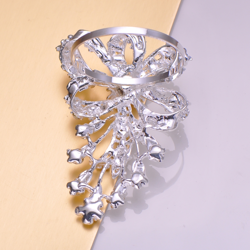 Flower Design Crystal Napkin Holder - Luxury Wedding