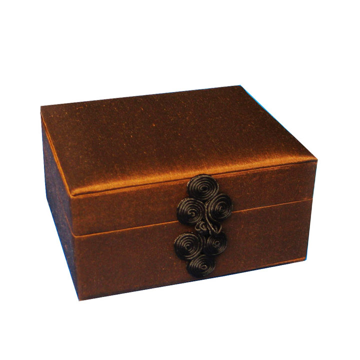 Thai silk box