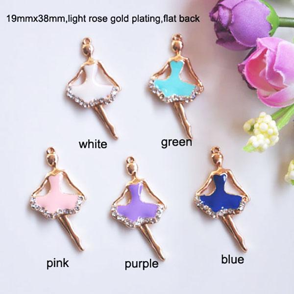 ballerina crystal hanger