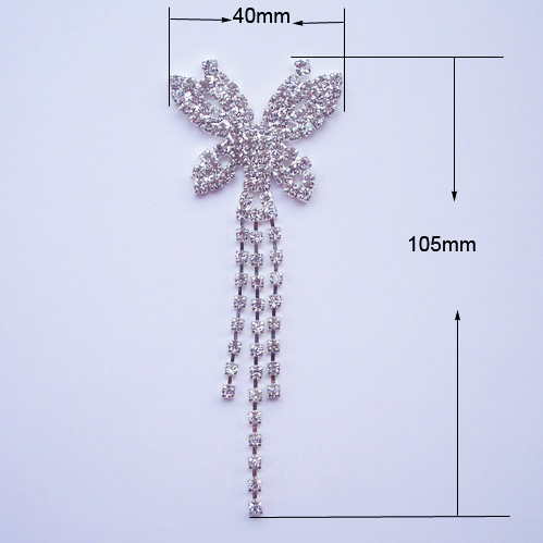butterfly crystal hanger