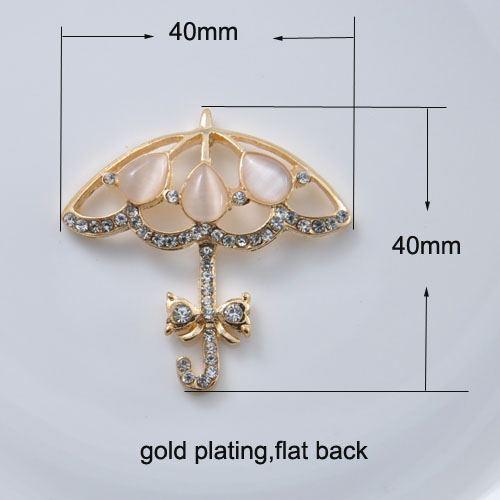 Rosegold Crystal Umbrella