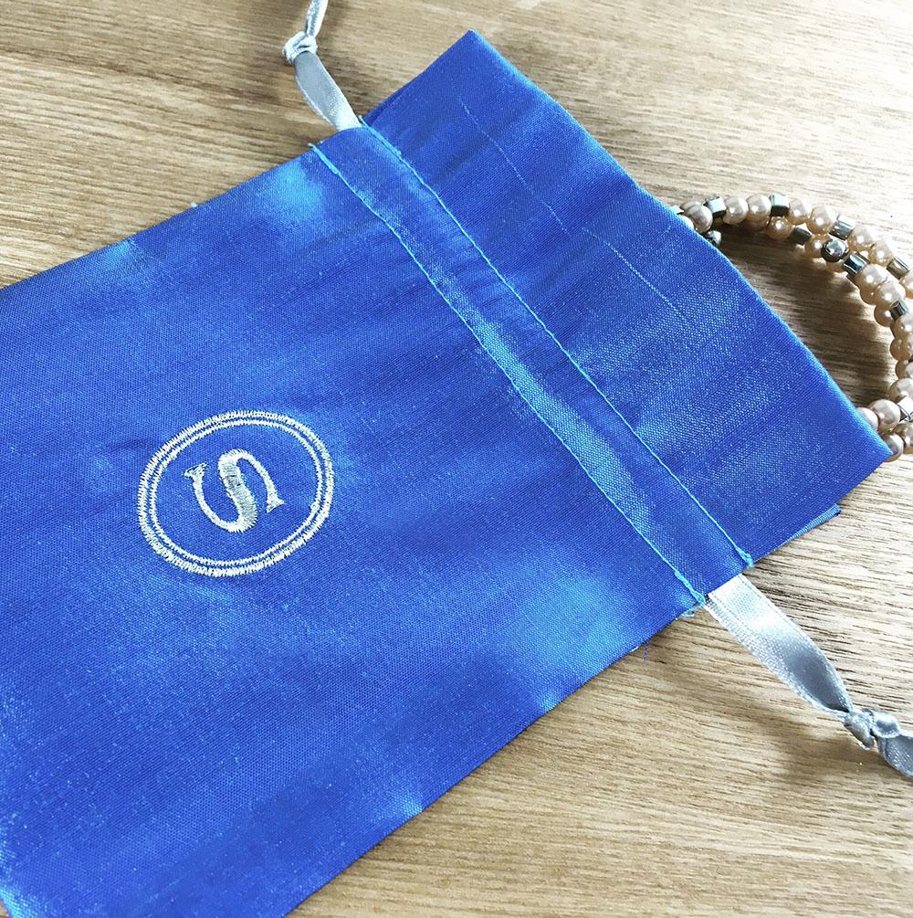 Thai silk pouch