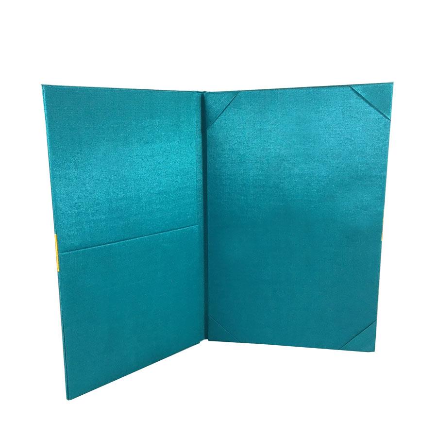 book fold invitations