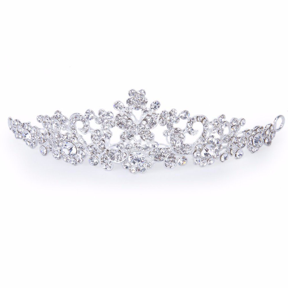 Bridesmaid Rhinestone Crown For Wedding