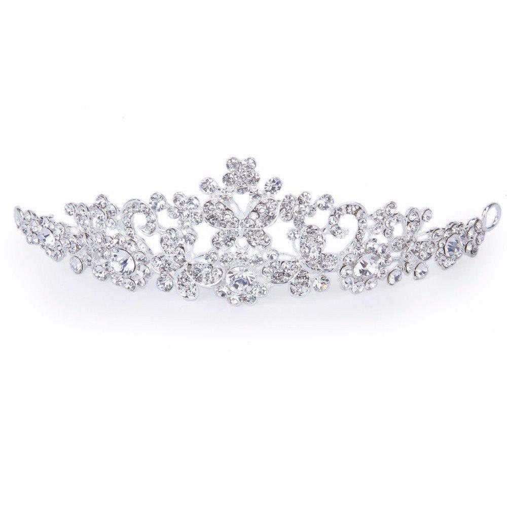 Bridesmaid Rhinestone Crown For Wedding