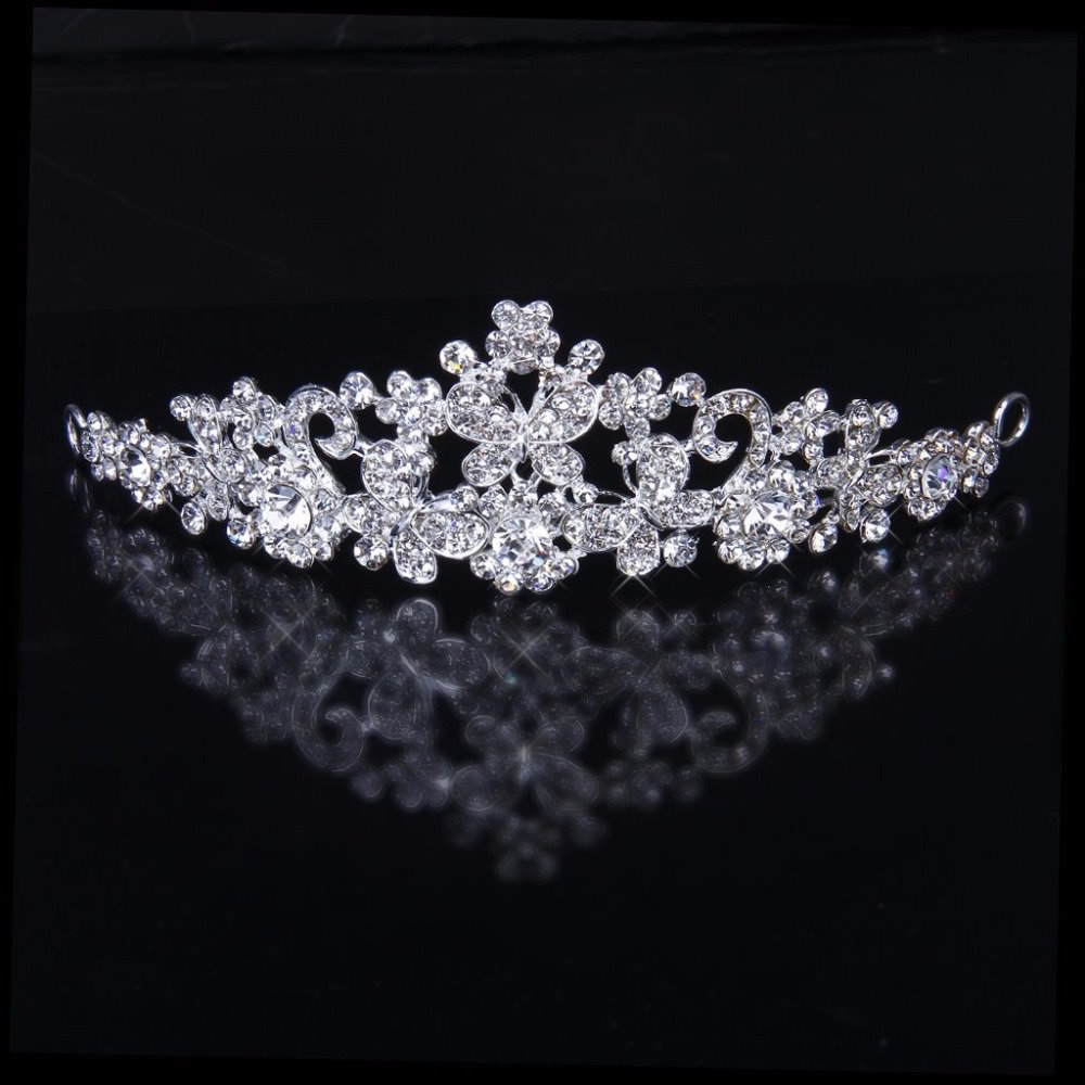 Rhinestone Bridal Crown Wedding Party Bridesmaid Crystal ...