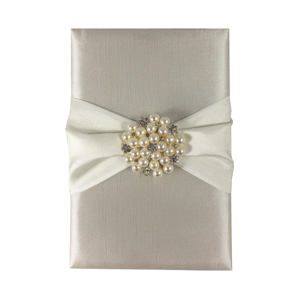 High Quality Silk Invitation