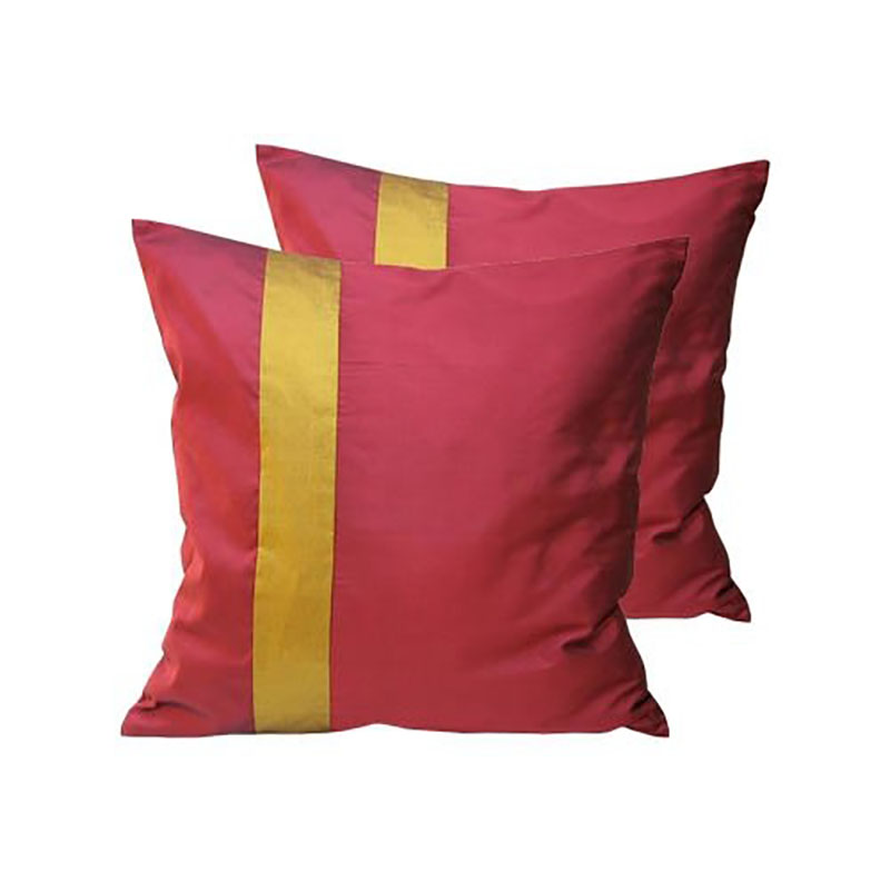 Thai silk cushion cover