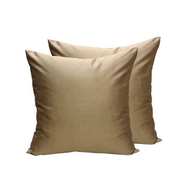 Gold Thai Silk Cushion Cover