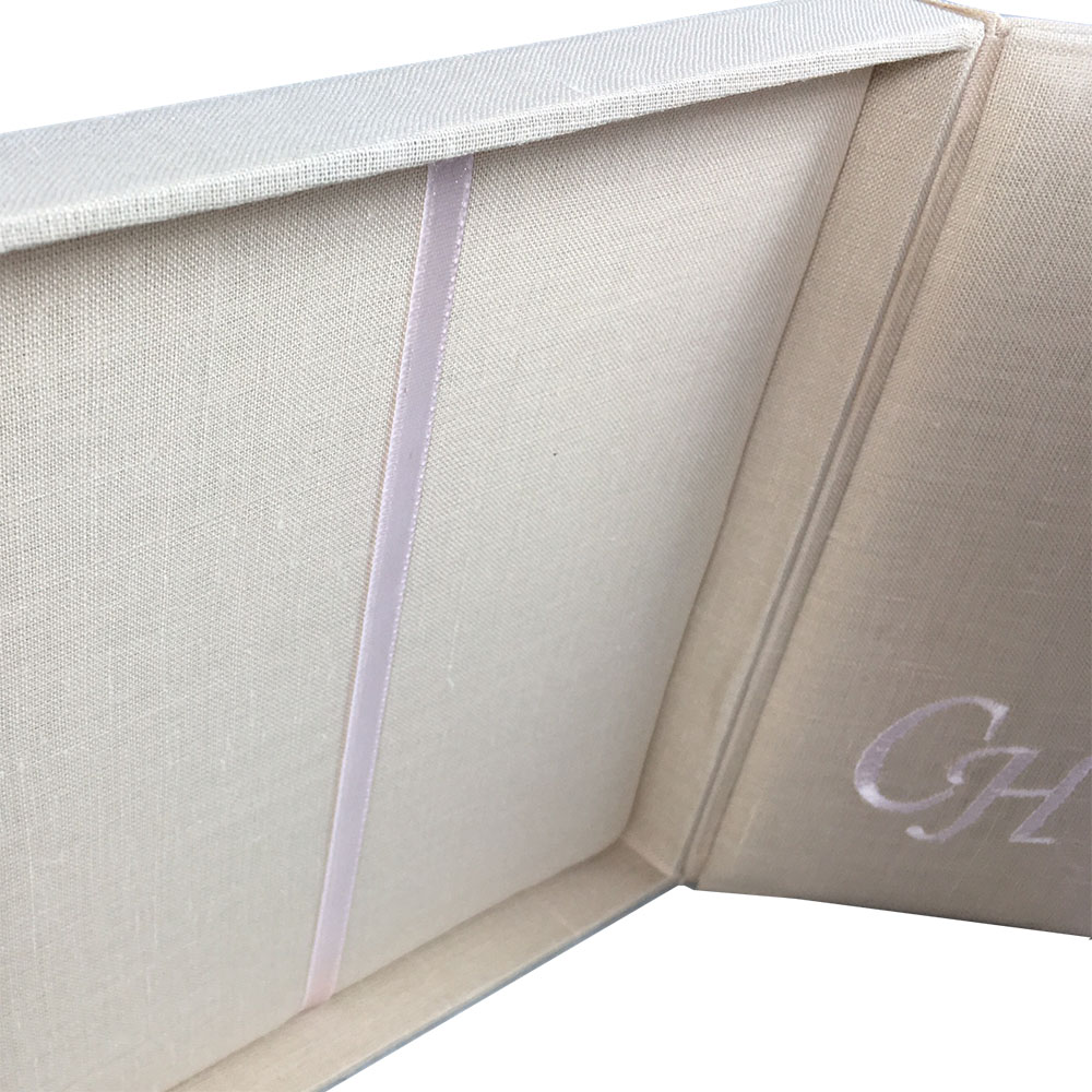 interior of linen box